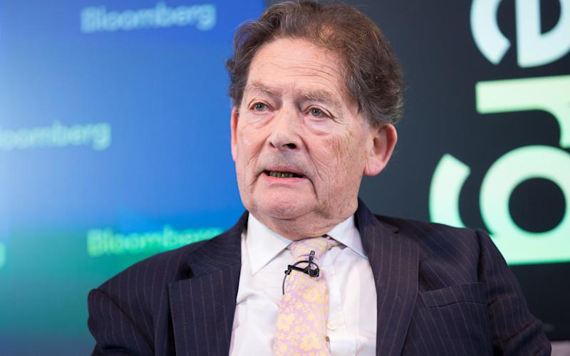 Lord Lawson - Credit: Bloomberg