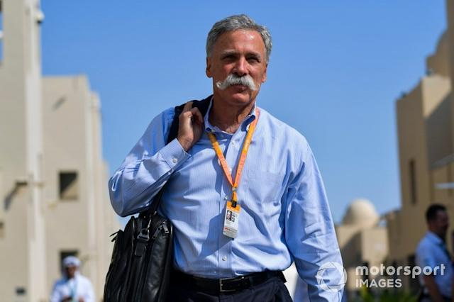 """Chase Carey, Presidente, Formula 1 <span class=""""copyright"""">Jerry Andre / Motorsport Images</span>"""