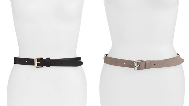Why settle for just one belt when you get so many on sale right now?