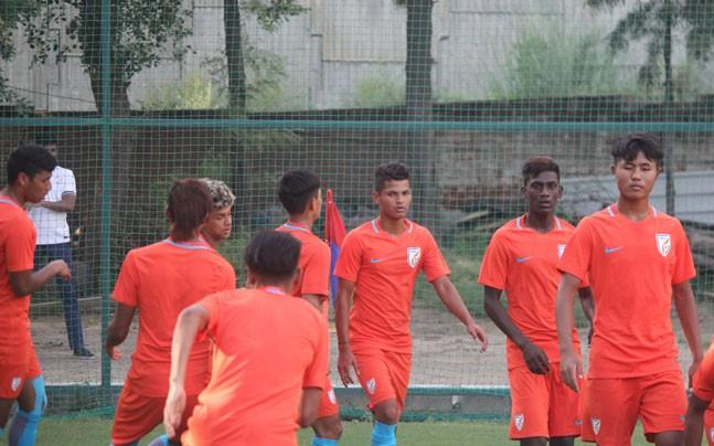 <p>India play USA in their first FIFA U-17 World Cup match at the Jawaharlal Nehru Stadium on October 6. </p>