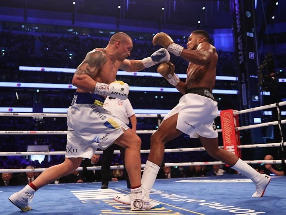 Usyk and Joshua look set to rematch in the early part of 2022 (Getty Images)