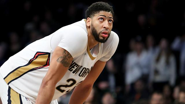 New Orleans Pelicans forward Anthony Davis sustained a left ankle sprain during Wednesday's 114-101 win over the Sacramento Kings.