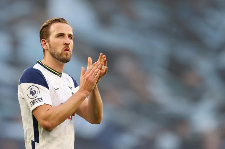 Staying put: Harry Kane will remain at Tottenham despite speculation linking him with a move to Manchester City