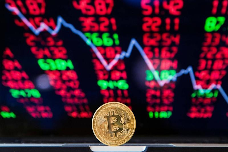Cryptocurrency markets mirrored bitcoin's latest drop in value, which fell below $6,000 for the first time this year (AFP/Getty Images)