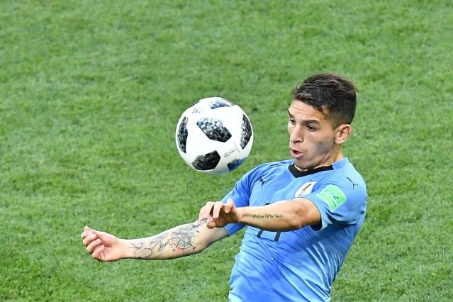 World Cup 2018: Uruguay's Lucas Torreira talks up Arsenal but remains coy over potential summer transfer
