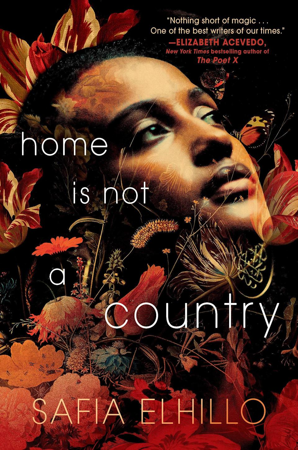 <p>Told in verse, <span><strong>Home Is Not a Country</strong></span> by Safia Elhillo is a mesmerizing novel about one young woman's struggle to find her place in the world. For Nima, there's nowhere she feels she fits in - not with her mother, who didn't grow up in America, and not with her peers who make her feel like she's always on the outside looking in. But when Nima is confronted with the different path her life could have taken, she'll have to fight to keep the identity she's never fully accepted. </p> <p><em>Out March 2</em></p>