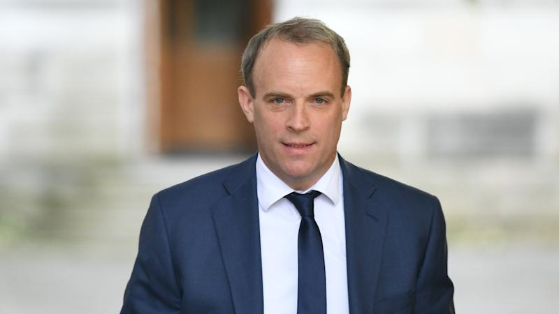 Raab condemns 'serious and egregious' human rights violations by China