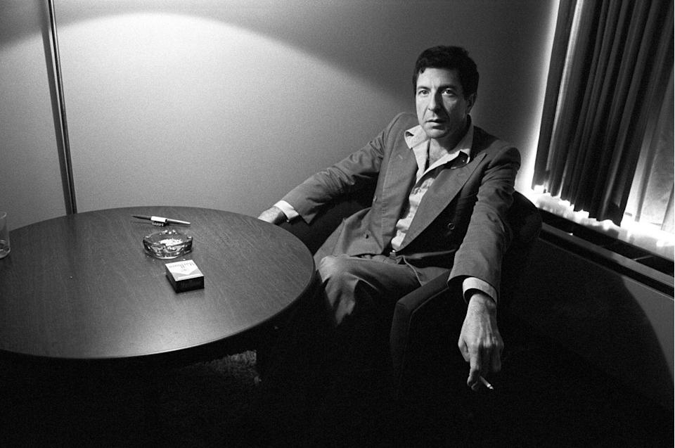 <p>Cohen, a model of a man in a suit, was traveling the world the year he turned 40, with tours in the U.S., Canada, and Europe. </p>