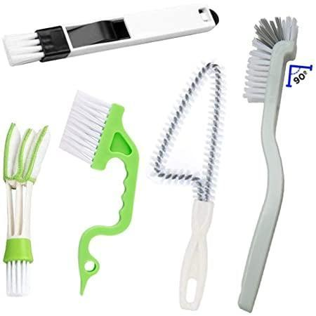 <p>If you have shutters or blinds in your home, you need this <span>Window/Sliding Door Track Cleaning Duster, Brush, and Sweeper 5-Piece Set</span> ($12). The tools in this set go far beyond just cleaning there, like the wand that gets at hidden dirt in window tracks or the brush and tiny attached dustpan for cleaning debris off your desk in a pinch.</p>