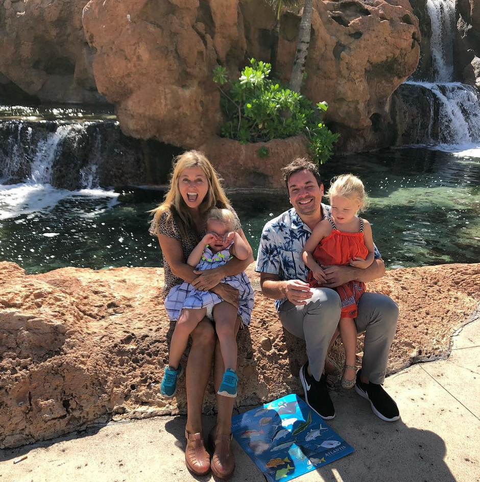"""<p>""""When you stayed at the aquarium a liiiittle too long. #FamilyVacation,"""" the <em>Tonight Show</em> host captioned this shot of his wife, Nancy, and kids, Winnie and Frances. It looks like the little ones may be having a mini meltdown, but don't worry, Jimmy, we've all been there. (Photo: <a rel=""""nofollow"""" href=""""https://www.instagram.com/p/BaZZXCYAYVu/?taken-by=jimmyfallon"""">Jimmy Fallon via Instagram</a>) </p>"""