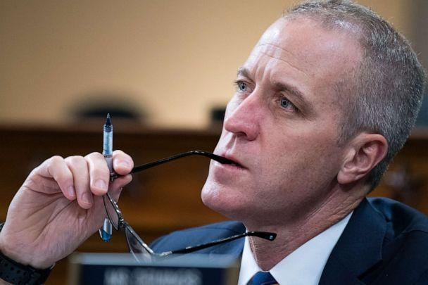 PHOTO: Rep. Sean Patrick Maloney attends the House Intelligence Committee hearing on the impeachment inquiry of President Trump, Nov. 21, 2019, in Washington, DC. (Tom Williams/CQ-Roll Call, Inc via Getty Images, FILE)
