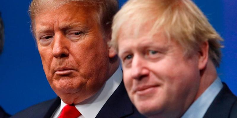 Boris Johnson Trump