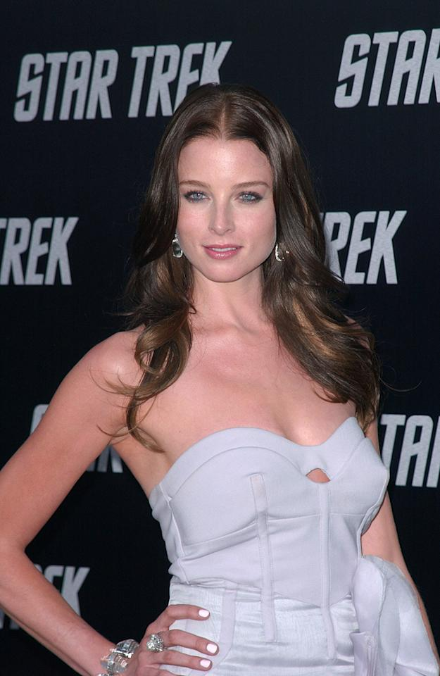 "<a href=""http://movies.yahoo.com/movie/contributor/1807799855"">Rachel Nichols</a> at the Los Angeles premiere of <a href=""http://movies.yahoo.com/movie/1809752801/info"">Star Trek</a> - 04/30/2009"