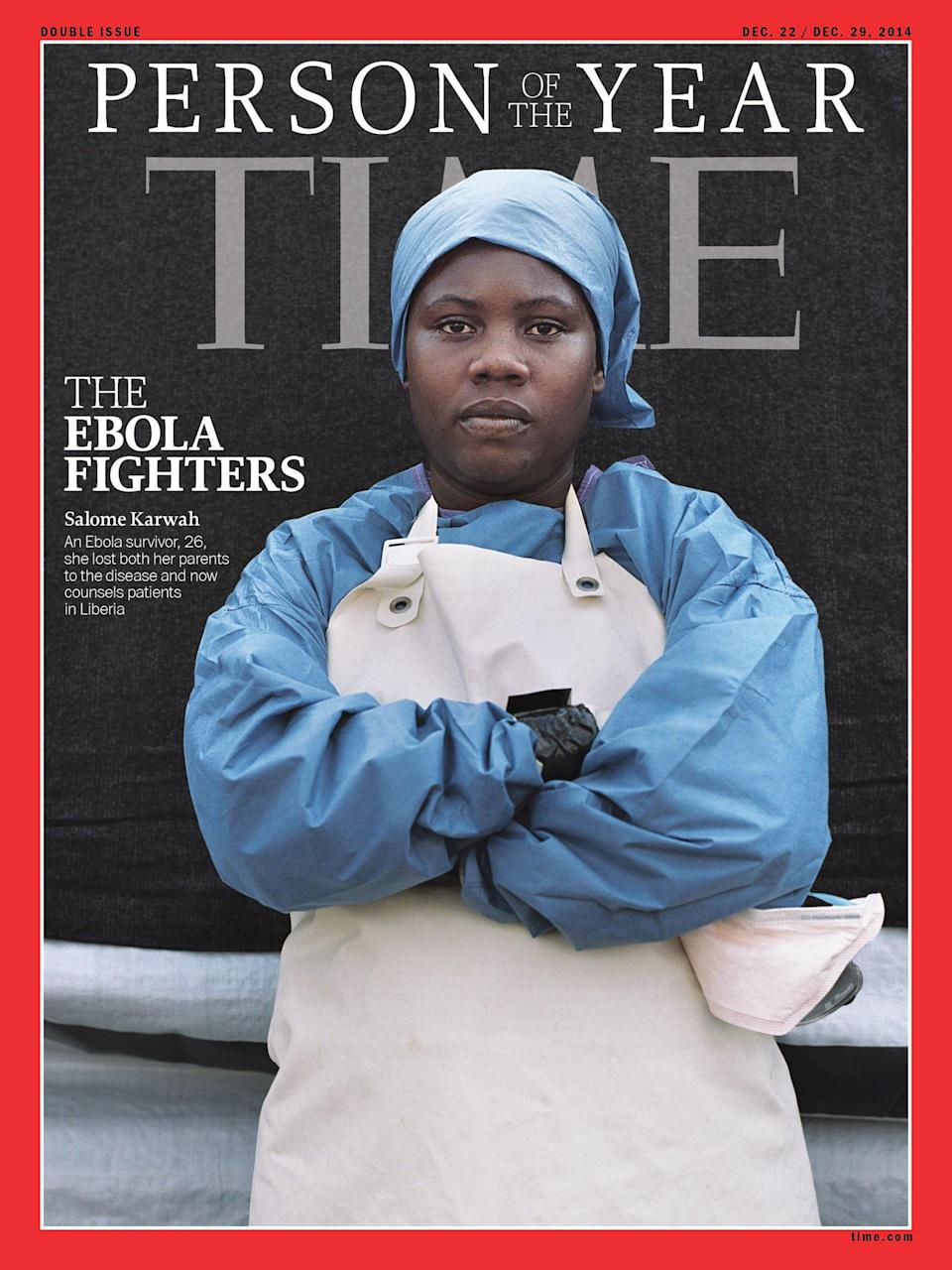 Salome Karwah was on the cover of TIME as 2014's Ebola Fighters Person of the Year. She died Feb. 21, a victim of Liberia's broken medical system and the lingering stigma for those who survived the disease.
