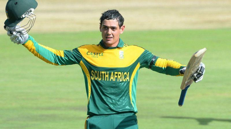 Quinton De Kock - The current keeper with most ODI hundreds