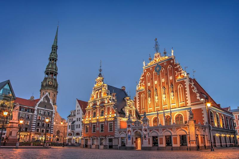 House of the Blackheads, a venue for exhibitions, concerts and other events, is a landmark of Riga Old City: Getty/iStock