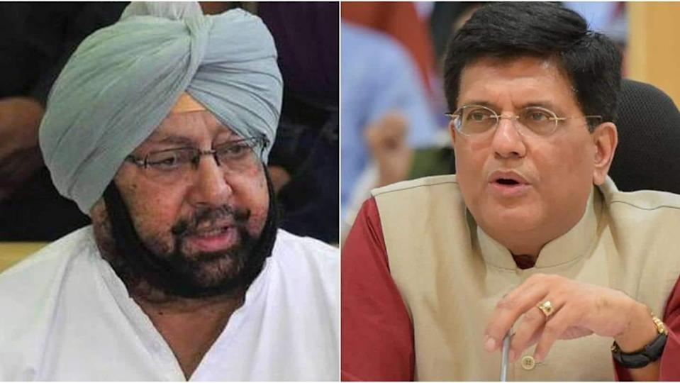 Piyush Goyal asks Punjab CM to implement e-payment of MSP