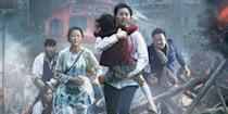 """<p>The sequel to the high-octane South Korean zombie thriller <em>Train to Busan</em> is set to invade the United States on August 7. The undead follow-up is already making a killing at the <a href=""""https://www.forbes.com/sites/scottmendelson/2020/07/26/rental-dave-franco-tops-us-box-office-as-train-to-busan-peninsula-rules-overseas-greatest-showman-trolls-hamilton-outpost/#460f68fc1c0d"""" rel=""""nofollow noopener"""" target=""""_blank"""" data-ylk=""""slk:box office overseas"""" class=""""link rapid-noclick-resp"""">box office overseas</a>, so we can't wait to get in on all the zombified action.</p>"""