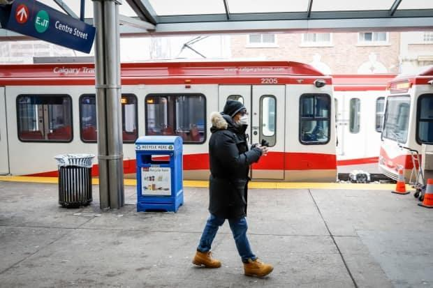 Stephen Tauro, a spokesperson with the city, said Calgary Transit ridership is only 25 per cent of what it was pre-pandemic, yet service levels are at 82 per cent.