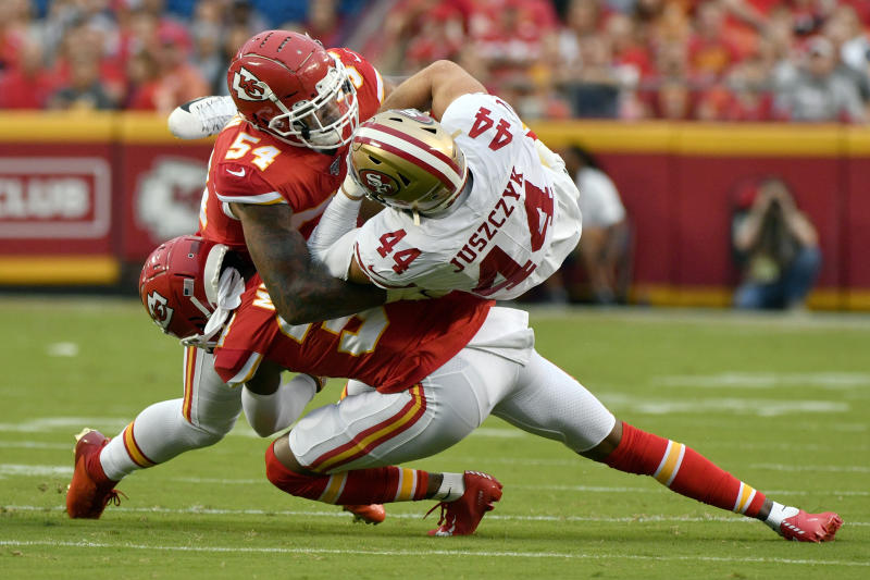 Garoppolo, Mahomes both sharp as 49ers top Chiefs 27-17
