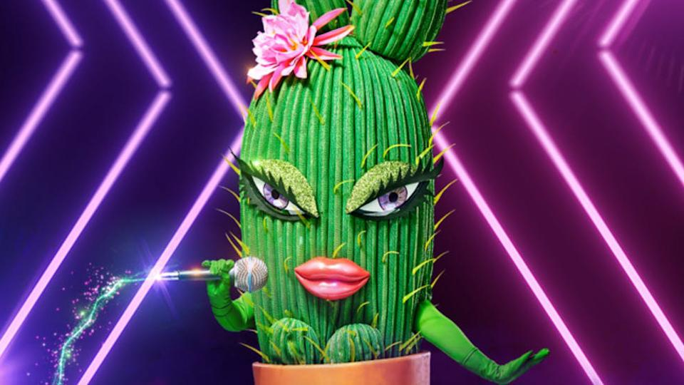 Lucy Durack was unmasked as Cactus on The Masked Singer on Monday night. Photo: Ten