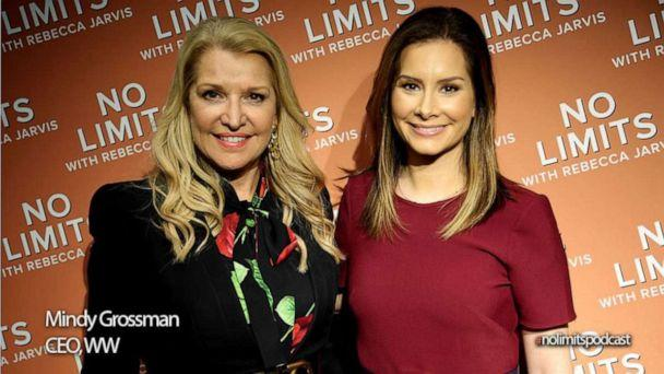 PHOTO: CEO of WW Mindy Grossman with ABC News' Rebecca Jarvis (Taylor Dunn)