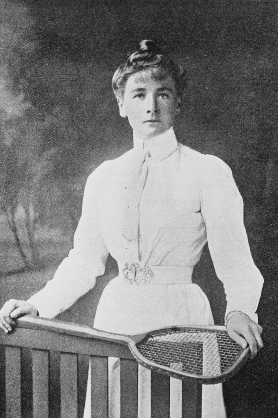 Charlotte Cooper Sterry became the first female Olympic tennis champion at the 1900 Olympics (Getty)