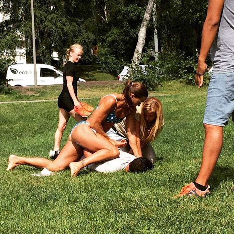 Badass Swedish Cop Takes Down Pickpocket While Sunbathing