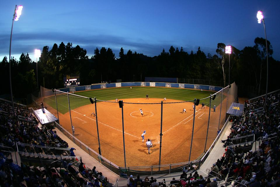LOS ANGELES, CA - APRIL 22:  General View of Easton Stadium during the game between the UCLA Bruins Softball team and the USA Softball team on April 22, 2008 at Easton Stadium in Los Angeles, California.  (Photo by Robert Laberge/Getty Images)