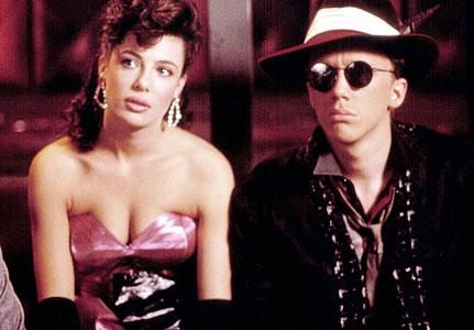 "Oh, Kelly LeBrock, before I had my own boobs, I really wanted yours in ""Weird Science"""