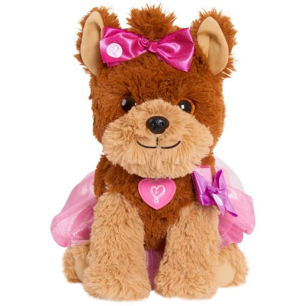 BowBow's satiny bows are removable and swappable—and she's only $10 (Photo: Walmart)