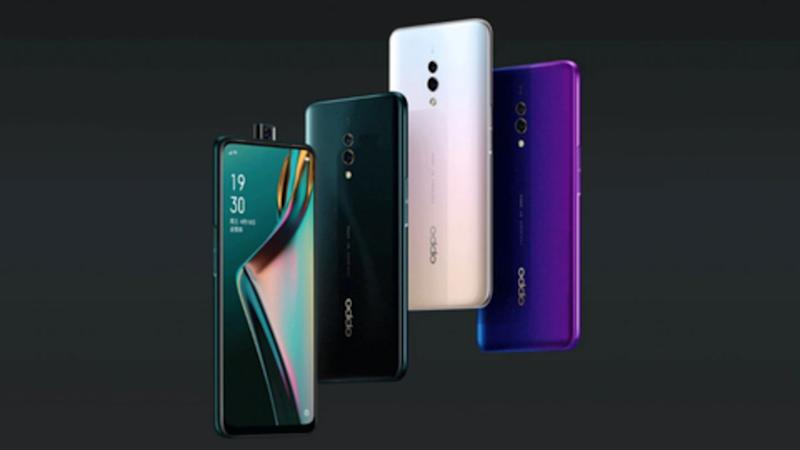 OPPO K3 with pop-up selfie camera, Snapdragon 710 goes official