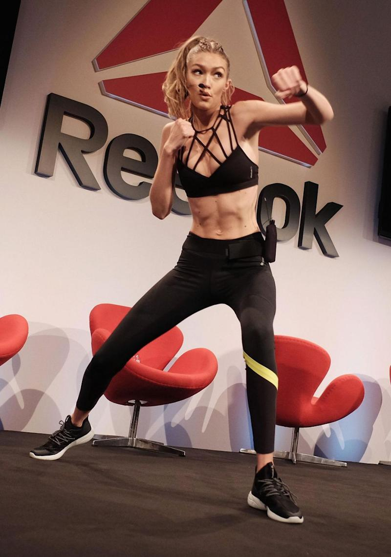 The blonde beauty showed off her best moves. Source: Getty