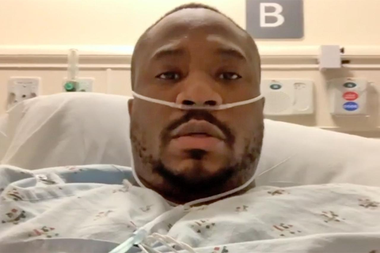 """<p>The<em>Love & Hip Hop: Hollywood</em> alum opened up about <a href=""""https://people.com/tv/love-hip-hop-hollywood-sincere-show-reveals-coronavirus-hospital-bed/"""">battling the virus</a> in an <a href=""""https://www.instagram.com/p/B-PuxFLhiM-/"""">Instagram video</a> on March 27, revealing that he's been hospitalized after <a href=""""https://people.com/health/celebrities-who-have-coronavirus/"""">being diagnosed with COVID-19</a>and pneumonia in both of his lungs.</p> <p>""""It took a lot for me to make this video as I am a very private person, but it is important for me to share my story,"""" he captioned the clip, which he filmed from a hospital bed. """"Please everyone take this seriously #Covid19 #Coronavirus Protect yourself protect your family.""""</p> <p>Show began his video by recalling how he fell ill, telling his followers, """"About a week ago, you know, wasn't feeling my best. Had to call the ambulance to take me to the hospital.""""</p> <p>""""They ran all the necessary tests and everything, and I was diagnosed with COVID-19. Been in the hospital ever since,"""" he continued. """"I know this thing is affecting everybody differently. For me, I have pneumonia in both my lungs, makes it difficult for me to breathe.""""</p> <p>Despite his condition, Show has remained positive throughout the ordeal, telling fans, """"I'm gonna be all right regardless.""""</p> <p>He ended the video by encouraging others to take the coronavirus seriously.</p> <p>""""What I just want everybody to really understand … is that this thing is serious,"""" he added. """"Playtime is over.""""</p>"""