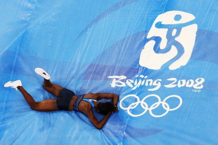 Chaunte Lowe left Beijing without realizing her dream of winning an Olympic medal. (Getty Images)