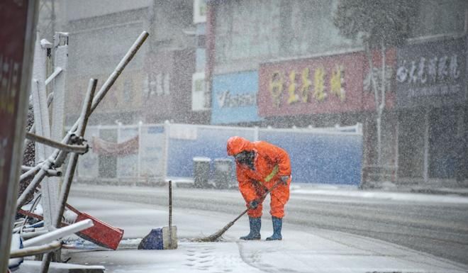 Xiaogan had already been in lockdown for weeks as authorities try to contain the virus outbreak. Photo: Xinhua