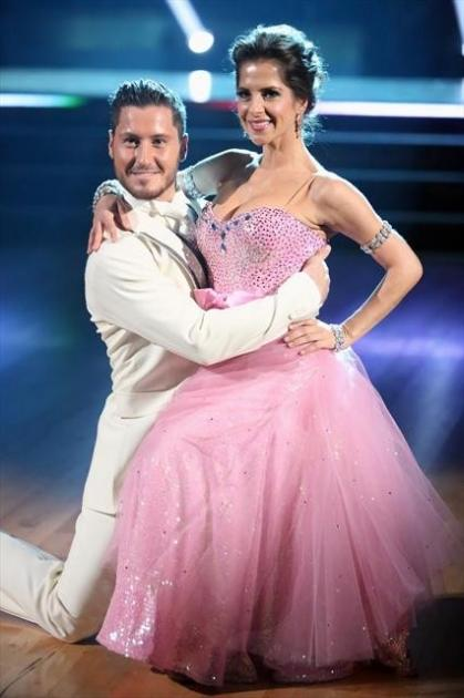 Val Chmerkovskiy and Kelly Monaco perform during Week 2 of 'Dancing with the Stars: All-Stars,' Oct. 1, 2012 -- ABC