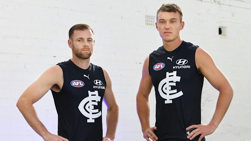 AFL BLUES PLAYING KIT UNVEILING