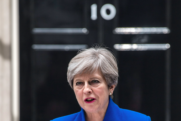 Theresa May is hoping that a deal with the DUP will enable her to stay on as Prime Minister for the foreseeable future (Rex)