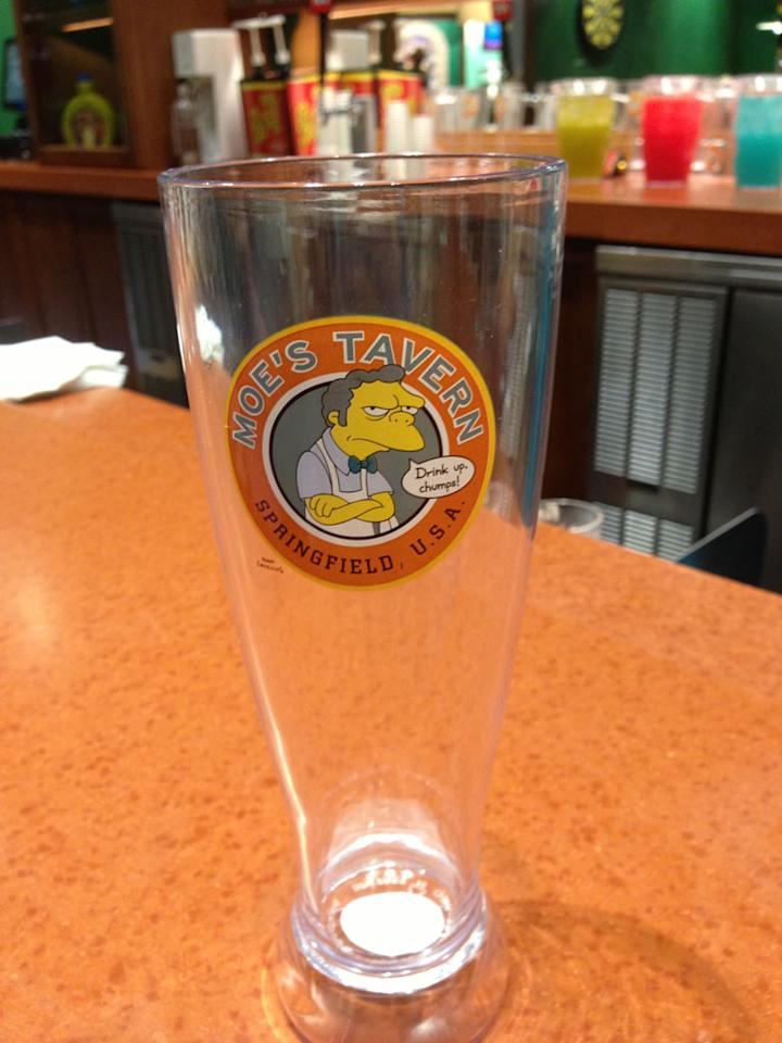 "Surely this glass carries the proper seal of approval. ""I heartily endorse this event or product."" — Krusty<br /><br />See more photos from <a href=""http://attractionsmagazine.com/"" target=""_blank"">Orlando Attractions Magazine</a>"