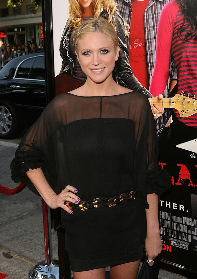 "<a href=""http://movies.yahoo.com/movie/contributor/1807455293"">Brittany Snow</a> at the Los Angeles premiere of <a href=""http://movies.yahoo.com/movie/1809995373/info"">Bandslam</a> - 08/06/2009"
