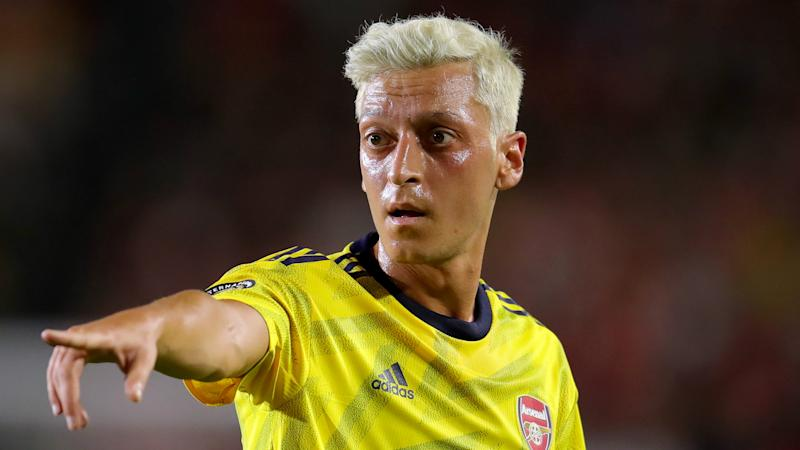 Mesut Ozil Explains Striking New Blond Hair Colouring