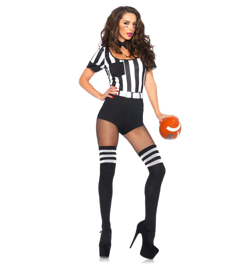 Strut your stuff and show off your football knowledge in this sporty number. (Photo: Spirit Halloween)