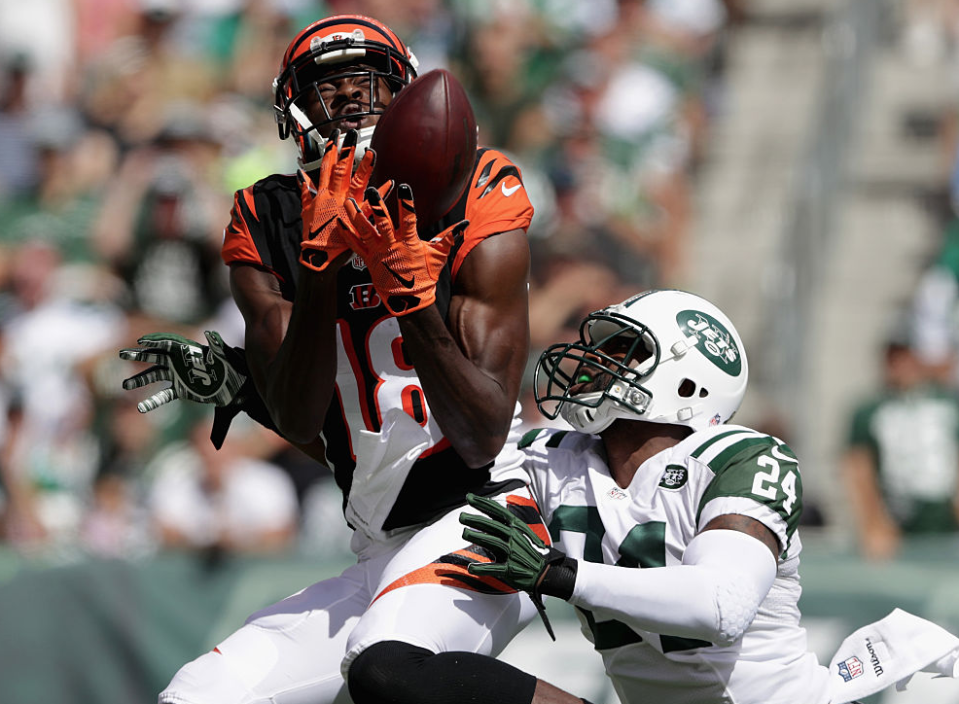 A.J. Green was unstoppable in New Jersey (Getty)