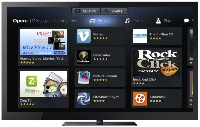 Opera Puts TV App Store in MediaTek Smart TV Chips