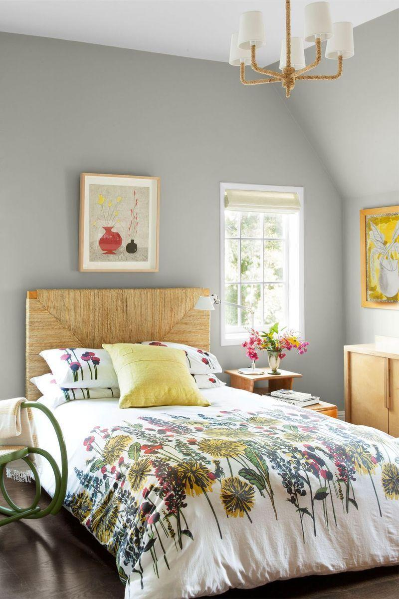"""<p>Depending on how you style it, gray can be perfectly springy. And this year, it's set to be huge: Pantone also chose Ultimate Gray as a 2021 Color of the Year, describing it as a natural shade of the popular hue. """"The colors of pebbles on the beach and natural elements whose weathered appearance highlights an ability to stand the test of time, Ultimate Gray quietly assures, encouraging feelings of composure, steadiness, and resilience,"""" the color experts write. Pair it with a vibrant yellow or bright fuschia for some cheerful spring flair. </p>"""