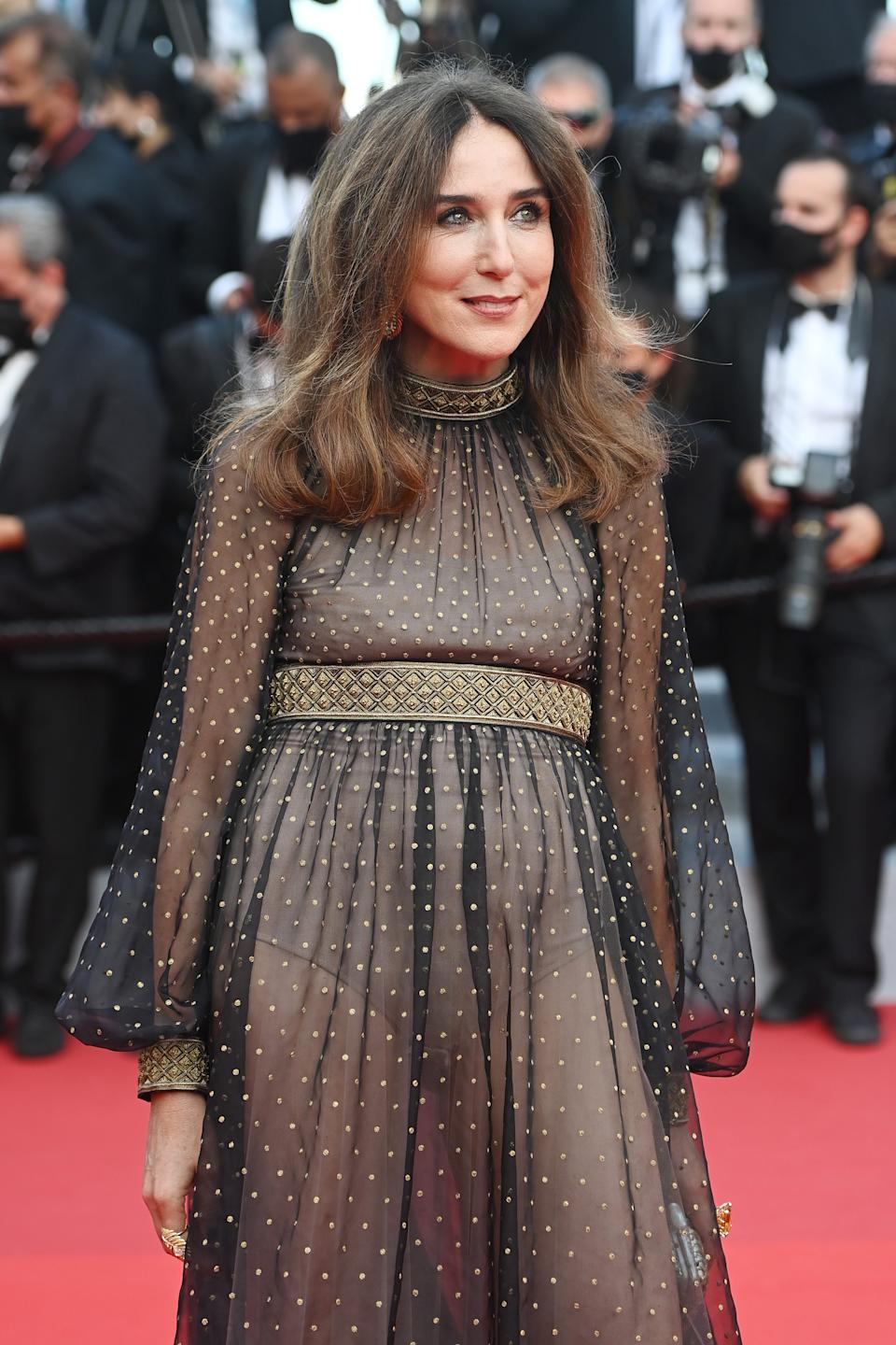 <p>Elsa Zylberstein no Festival de Cannes (Photo by Kate Green/Getty Images)</p>