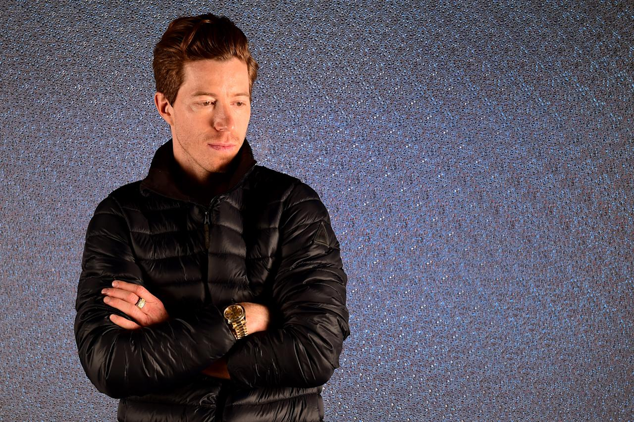 <p>poses for a portrait during the Team USA PyeongChang 2018 Winter Olympics portraits on April 25, 2017 in West Hollywood, California. (Getty) </p>