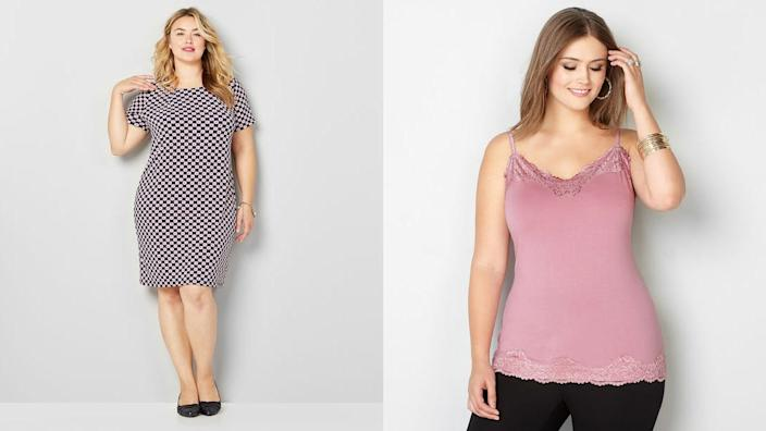Get an additional 50% off new and clearance items with the code