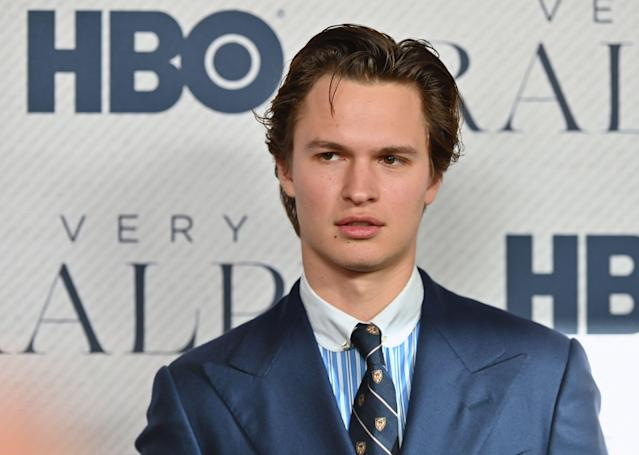 Ansel Elgort (Photo by Angela Weiss / AFP) (Photo by ANGELA WEISS/AFP via Getty Images)